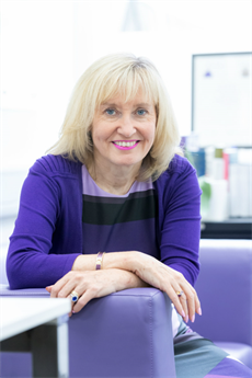 A photo of Professor Jenny Higham.
