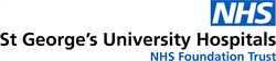 The St George's University Hospitals NHS Foundation Trust logo.