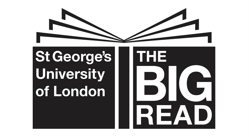 The SGUL Big Read logo.