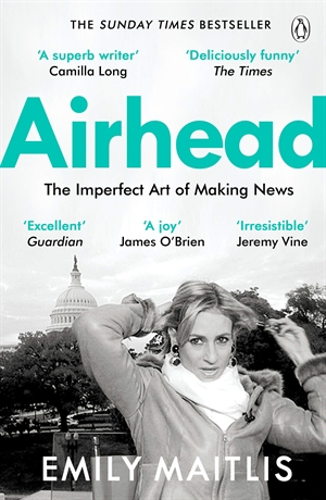 The cover for Emily Maitlis's book Airhead.